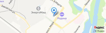 Средняя общеобразовательная школа №5 на карте Химок