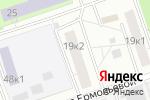 Схема проезда до компании СтокСервис в Москве