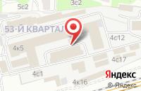 Схема проезда до компании Саунамастер в Москве