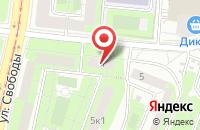 Схема проезда до компании Медикал в Москве