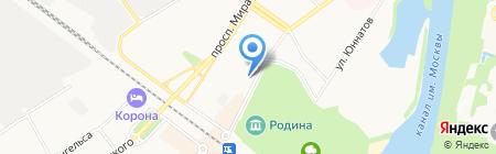 Гимназия №9 на карте Химок