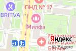 Схема проезда до компании Мастерская по ремонту одежды на ул. Свободы в Москве