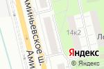 Схема проезда до компании Белорусская косметика в Москве