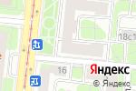 Схема проезда до компании Эхо в Москве