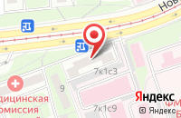 Схема проезда до компании Производственно-торговая компания  в Москве