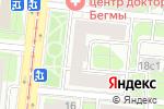 Схема проезда до компании Э-эхо в Москве