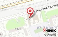Схема проезда до компании Деревянный дом в Москве