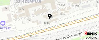 Авто 100 на карте Москвы