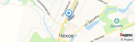 Ликарион на карте Чехова