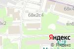 Схема проезда до компании Отдел МВД России по району Щукино г. Москвы в Москве