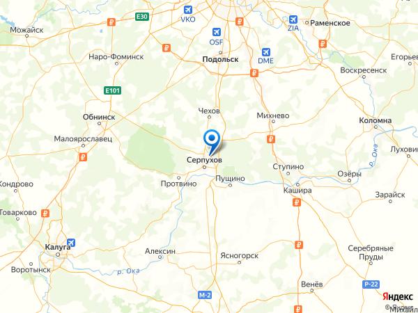 поселок Дома отдыха Авангард на карте