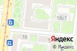 Схема проезда до компании Merhaba в Москве