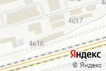 Схема проезда до компании Мандарин в Москве