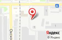 Схема проезда до компании Россита в Серпухове