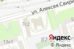 Схема проезда до компании Мосэлектротягстрой в Москве