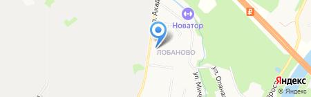 Лермонтов на карте Химок