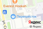 Схема проезда до компании Планета Спорта в Москве
