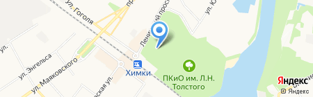 Апрель на карте Химок