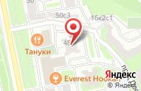 Схема проезда до компании Красбилд в Москве