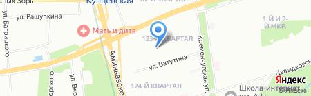 Урал-траверс-ПАК на карте Москвы