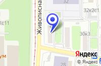 Схема проезда до компании БАГЕТНАЯ МАСТЕРСКАЯ ДИАЗ в Москве