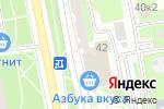 Схема проезда до компании ПрофМастер в Москве