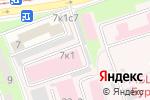 Схема проезда до компании Медвежонок в Москве