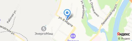 Продуктовый магазин на ул. 8 Марта на карте Химок