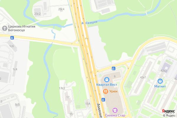 Ремонт телевизоров Аминьевское шоссе на яндекс карте