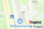 Схема проезда до компании Букеториум в Москве