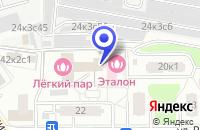 Схема проезда до компании МЕБЕЛЬНАЯ МАСТЕРСКАЯ ТЕГО в Москве
