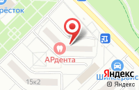 Схема проезда до компании Проект  в Москве