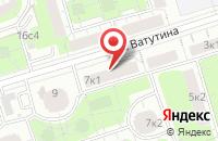 Схема проезда до компании Супермаркет Контента в Москве