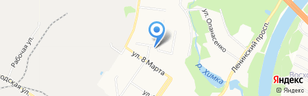 ДРОБ-Ангел на карте Химок