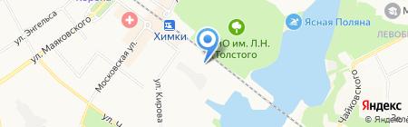 МосМирМебели на карте Химок