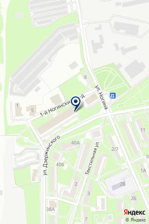 ЖКХ ЖИЛИЩНИК-6 на карте Серпухова