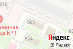 Схема проезда до компании ИНТАХО в Москве