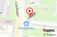 Схема проезда до компании Apple Room в Ярославле