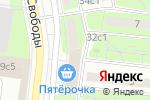 Схема проезда до компании СААНД-АВТО в Москве