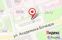 Схема проезда до компании Вальс Цветов в Москве