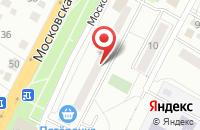 Схема проезда до компании Бик в Чехове