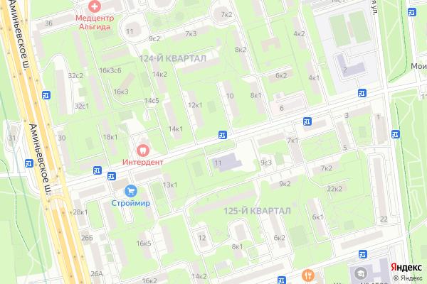 Ремонт телевизоров Улица Артамонова на яндекс карте