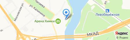 RockFit на карте Химок