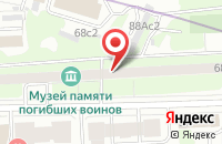 Схема проезда до компании Сюрпресс в Москве
