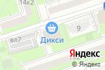 Схема проезда до компании На Инициативной в Москве