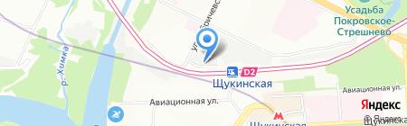 РапидСофт Девелопмент на карте Москвы