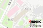 Схема проезда до компании МСКПЛАСТ в Москве