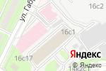 Схема проезда до компании Ася-лайт в Москве