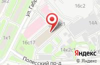 Схема проезда до компании Постерфрейм в Москве