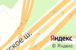 Схема проезда до компании Телефоны кадров в Москве